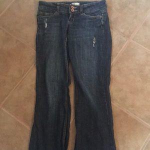 3/$20✨Garage Stretch Slim Flare Jeans